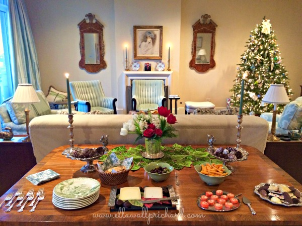 Family Christmastime at the Dallas condo