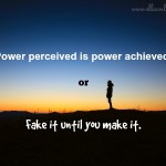 Power perceived
