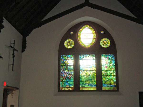 Tiffany windows, Episcopal church