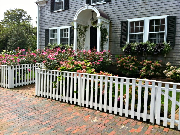 Traditional Nantucket shingle house