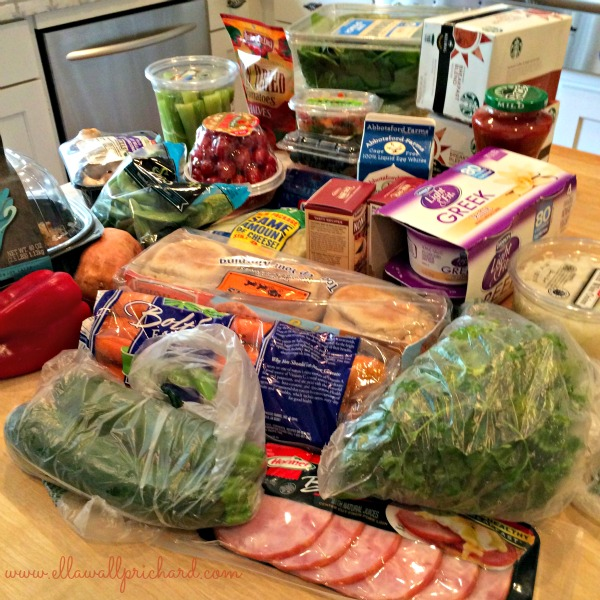 $93 of healthy groceries